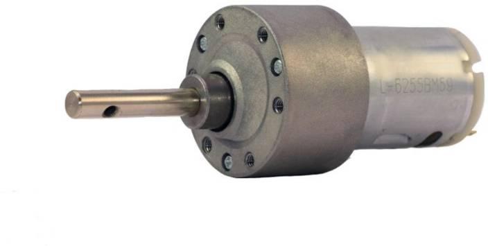 Robodo 12v DC Johnson Side Shaft Gear, Geared Motor 300 rpm High Torque - A  Grade