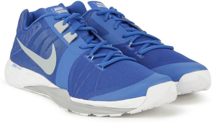 reputable site e9dd0 28324 Nike TRAIN PRIME IRON DF Training Shoes For Men (Blue)