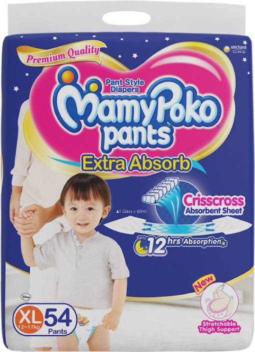 MamyPoko Pants Extra Absorb Diaper - XL