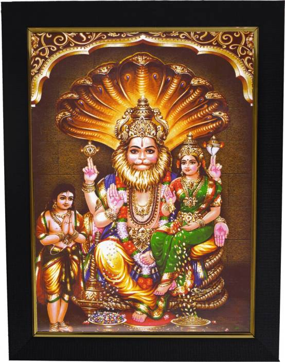 101temples Lakshmi Narasimha Swamy Religious Frame Price In India