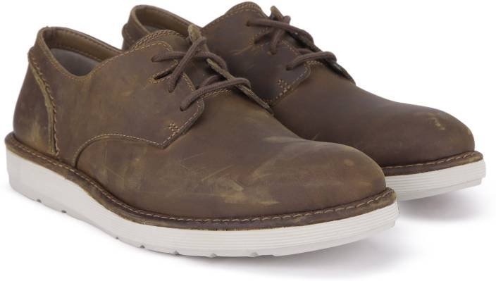 Clarks Fayeman Lace Beeswax Casual For Men