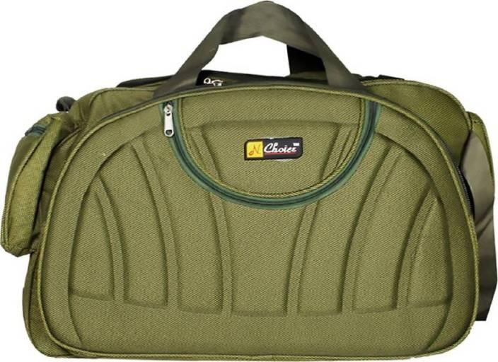 Inte Enterprises (Expandable) green01 Duffel Strolley Bag