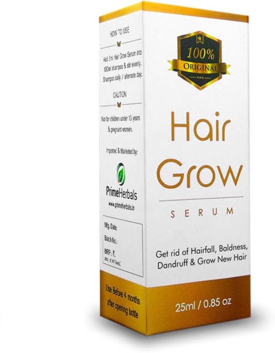 prime herbals Hair Grow Serum for Hair Growth, Anti Hair Fall & Dandruff Best Hair loss treatment
