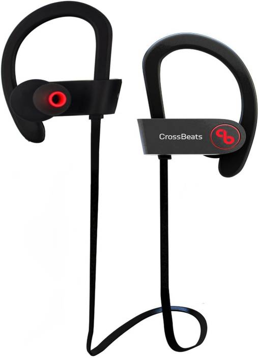 CrossBeats RAGA V2 Wireless Headphones Bluetooth Headset with Mic