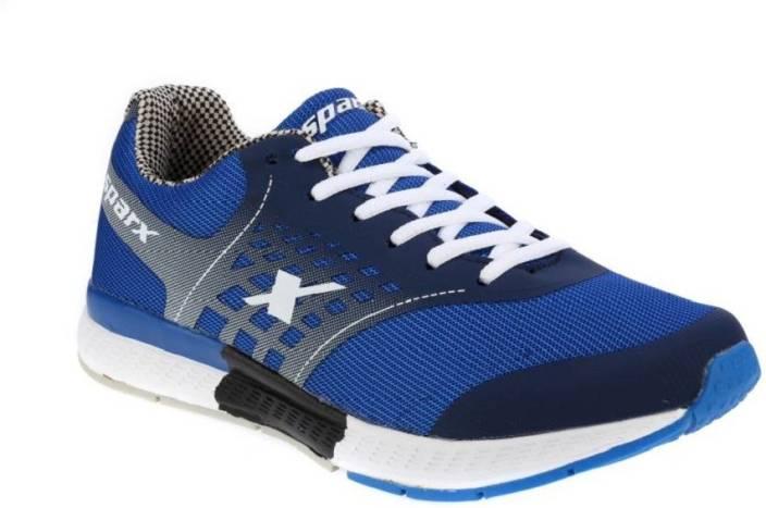 Sparx 100 % original SM-220 Navy Royal Blue Sport Running Shoes For Men