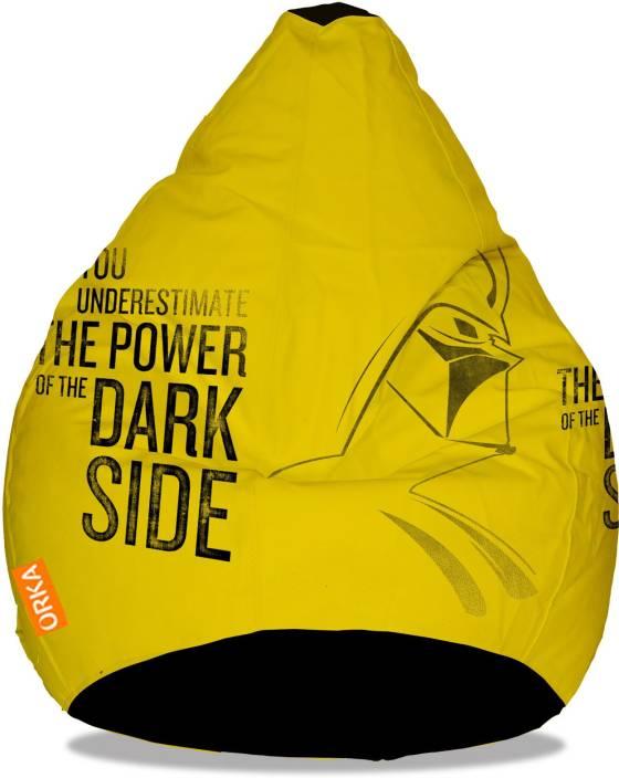 Admirable Orka Xxxl Starwars Dark Side Digital Printed Bean Bag With Machost Co Dining Chair Design Ideas Machostcouk