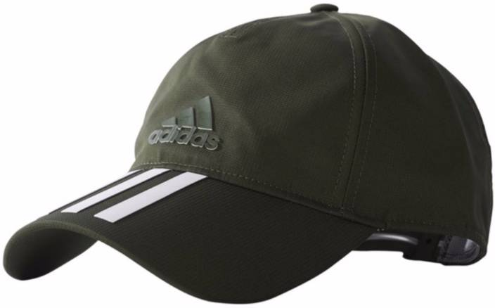 c2d8e7080af ADIDAS Solid Olive Unisex 3S CLMLT Cap - Buy ADIDAS Solid Olive Unisex 3S CLMLT  Cap Online at Best Prices in India