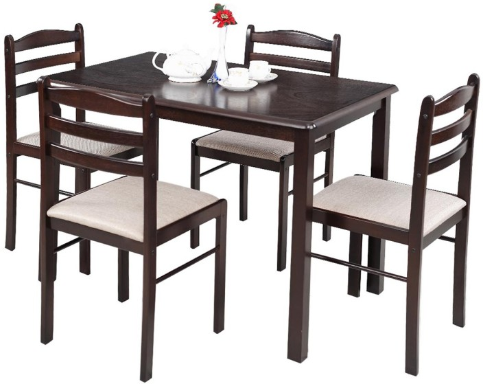 RoyalOak Hunter Solid Wood 4 Seater Dining Set Part 64