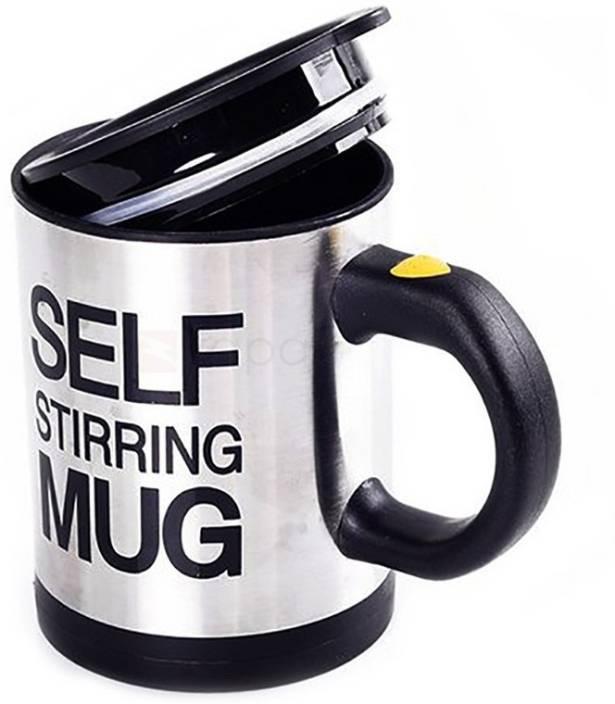 404e96e87ee SS Mart self stirring mug Stainless Steel, Plastic Mug