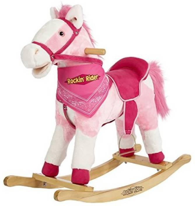 Rockin' Rider Holly Rocking Horse Ride On - 7 Inch - Holly Rocking