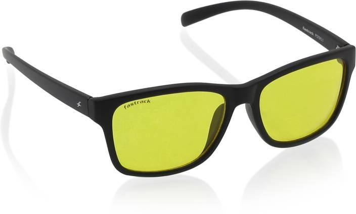 6462d7c99365 Buy Fastrack Wayfarer Sunglasses Yellow For Men Online   Best Prices ...