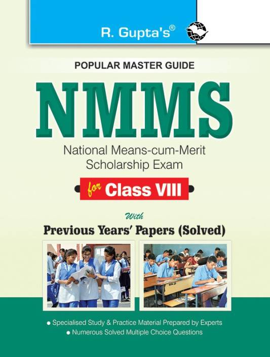NMMS Exam Guide for (8th) Class-VIII: Buy NMMS Exam Guide for (8th