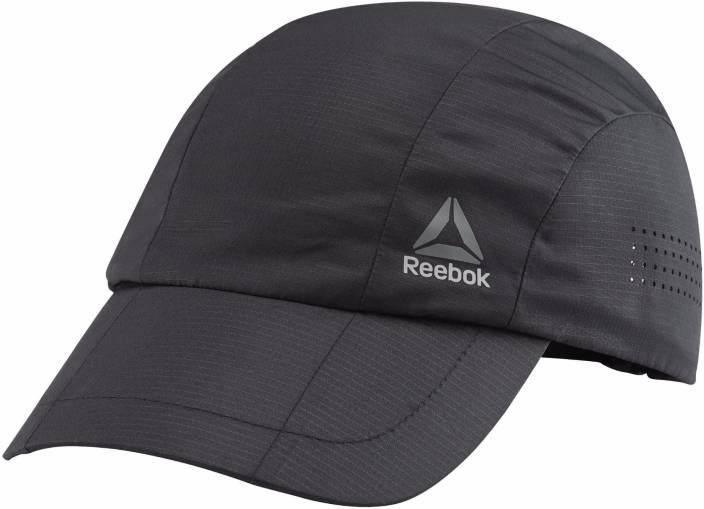 a66927dca69 REEBOK Solid Black ACT ENH PERFORMANCE Cap - Buy REEBOK Solid Black ACT ENH  PERFORMANCE Cap Online at Best Prices in India
