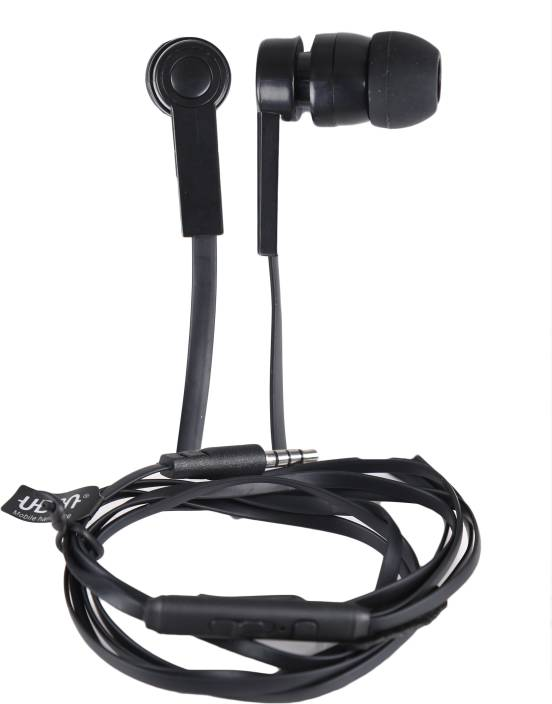 59661801c58 BrainBel GR-13 GROOVE SERIES BIG DADDY BASS UNIVERSAL WITH MIC-1 Wired  Headset with Mic (Black, In the Ear)