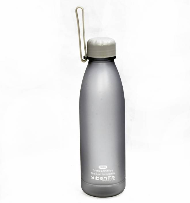 3a8e396eed Little Kitchen 500 Ml Plain Water Bottle For Kids In Grey Color 500 ml  Bottle (Pack of 1, Grey)