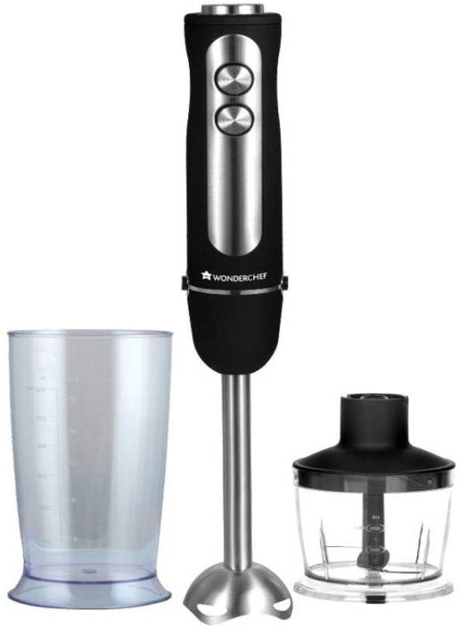 5ad5f88d0 Wonderchef Eleganza Hand Blender 2-in-1 with Chopper and Bowl 550 W Hand  Blender (Black