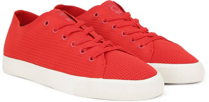 6cfaa08a8 United Colors of Benetton Sneakers For Men - Buy Red Color United ...