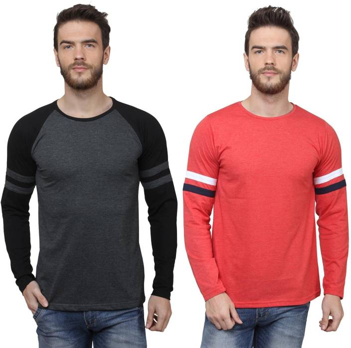 SayItLoud Printed Men's Round Neck Multicolor T-Shirt