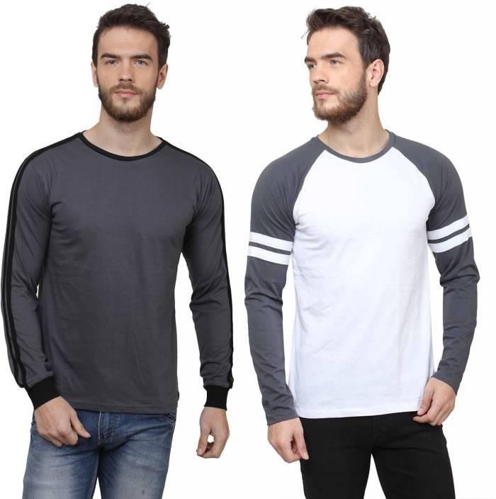 SayItLoud Printed Men's Round Neck Multicolor T-Shirt