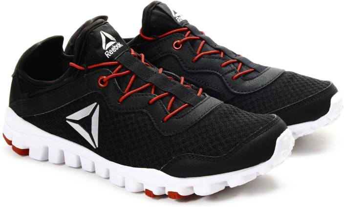 9033b0666 REEBOK ONE RUSH FLEX Running Shoes For Men - Buy BLACK RED SILVER ...
