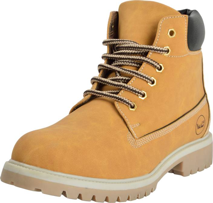 West Code WESTCODE Mens Boots Synthetic Leather High Top Casual Shoes and  Sneakers Mp3-Camel. ON OFFER