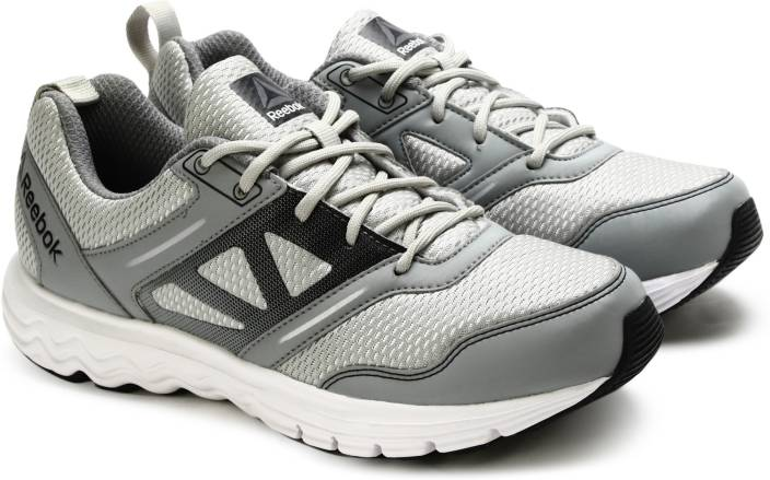 7b3f068f9 REEBOK FUEL RACE Running Shoes For Men - Buy SILVER GREY BLACK WHITE ...