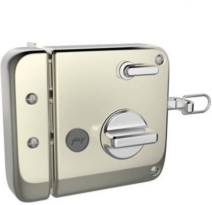 8637bbac0c8 Godrej TRIBOLT ULTRA XL SATIN NICKEL (INSIDE OPENING) Lock (Silver). 4