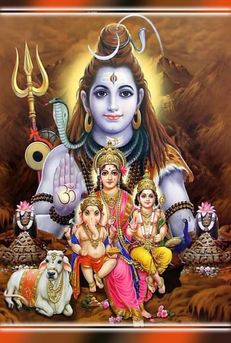 Bhole Nath Family Maa Parvati Ganesh Ji Kartikey Ji Shiv Shankar