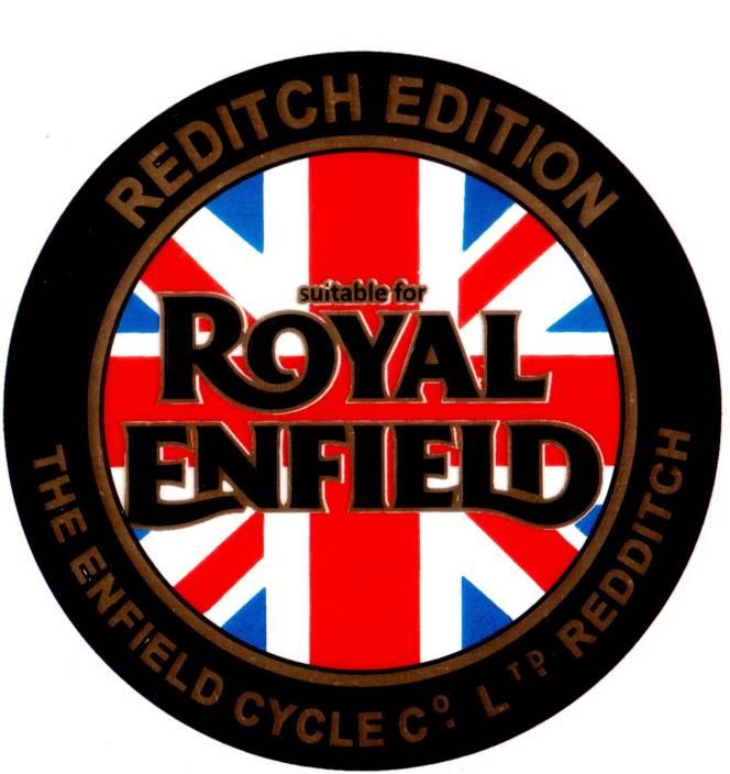 Monk 29 Re Logo Redditch Edition Metallic Gold Sticker For Royal