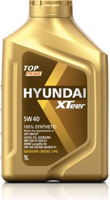 HYUNDAI XTEER 5W40 TOP Synthetic Motor Oil Price in India