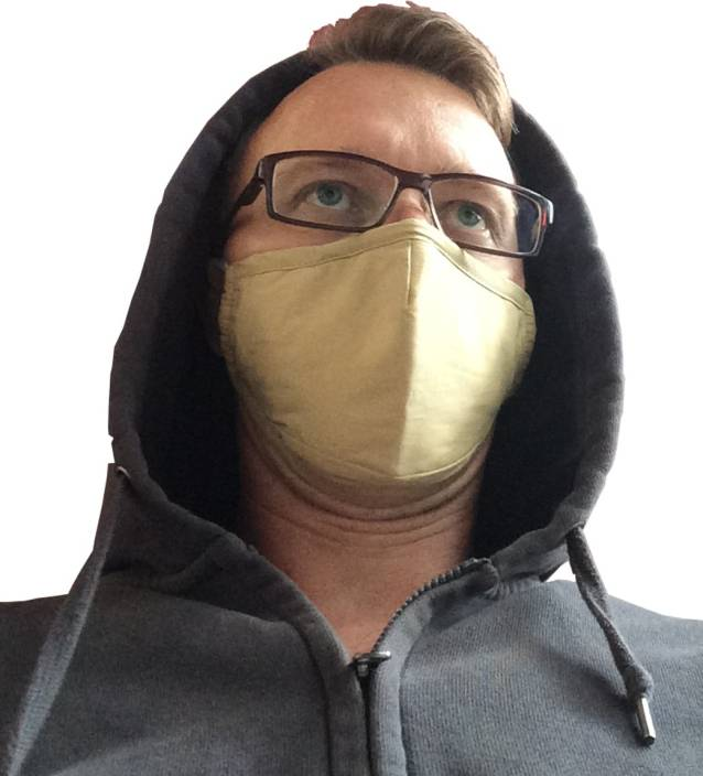 Beatclouds JUDICIAL BROWN AIDI-C010 Mask and Respirator