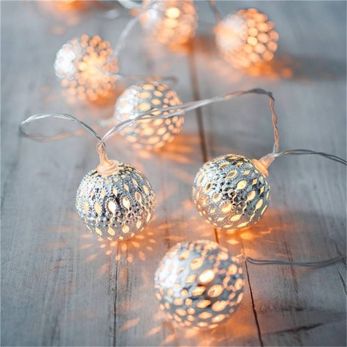 toygully 3.5 inch Silver Rice Lights