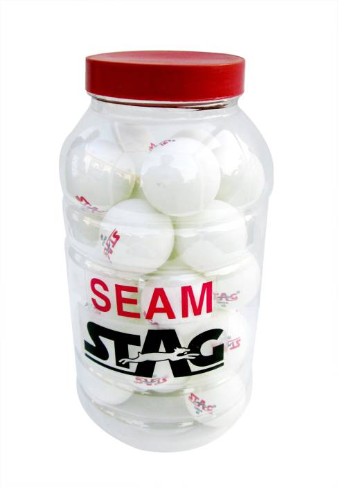 Stag Seam Plastic Table Ping Pong Ball -   Size: Standard
