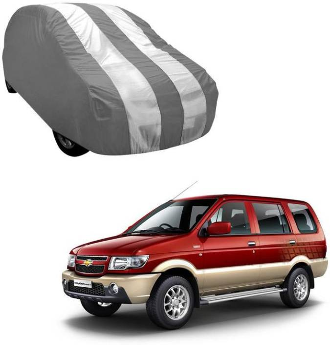 Autokraftz Car Cover For Chevrolet Tavera Without Mirror Pockets