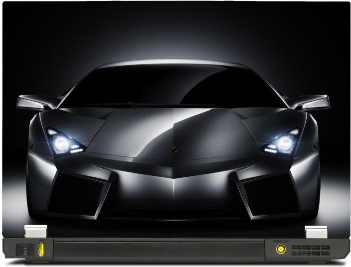 Merveilleux SkinShack Lamborghini Headlights Supercar Cars (14.1 Inch) Vinyl Laptop  Decal 14.1