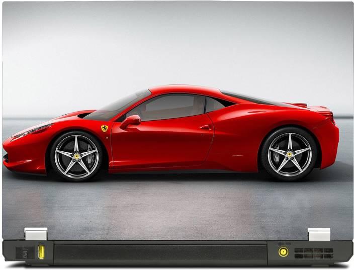 Skinshack Ferrari Red Sports Car 13 3 Inch Vinyl Laptop Decal 13 3