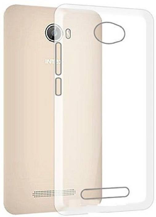 online retailer c4941 4c980 Flipkart SmartBuy Back Cover for Intex Aqua 5.5 VR
