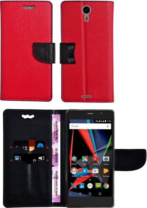 brand new 4006b a4bf5 Mysha Flip Cover for Panasonic Eluga A3