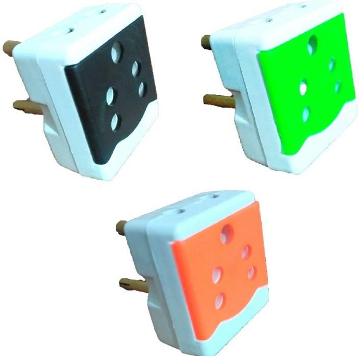 Brand one Fyter 3 pin 3 way plug socket 6 A Three Pin Socket
