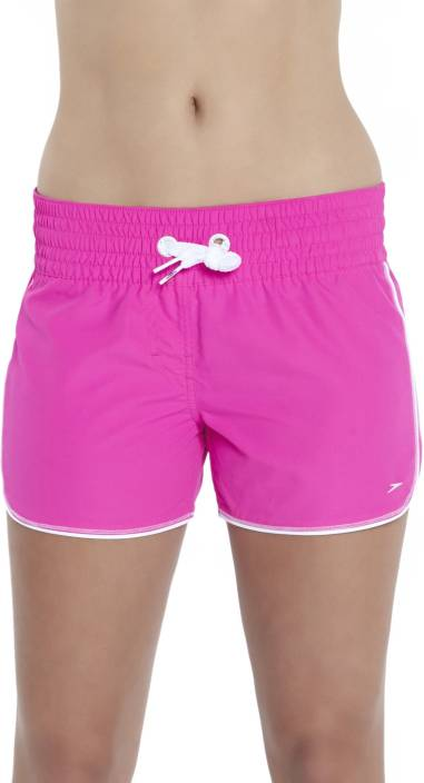 99054d58ec3d7 Speedo Solid Women's Pink Swim Shorts - Buy Speedo Solid Women's Pink Swim  Shorts Online at Best Prices in India | Flipkart.com