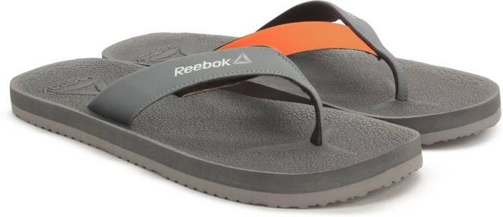 edf552ee13ba REEBOK ADVENTURE FLIP Slippers - Buy GRY DUST NACHO SILVER WHT Color REEBOK  ADVENTURE FLIP Slippers Online at Best Price - Shop Online for Footwears in  ...
