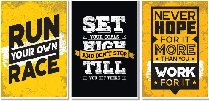 The office motivational posters Successories Motivational Posters For Study Room And Office Decor Large Size Set Of 1319 Inches Inspirational Wall Quotes Q2 Paper Print 19 Inch 13 Inch Chandigarhhotels Motivational Posters For Study Room And Office Decor Large Size