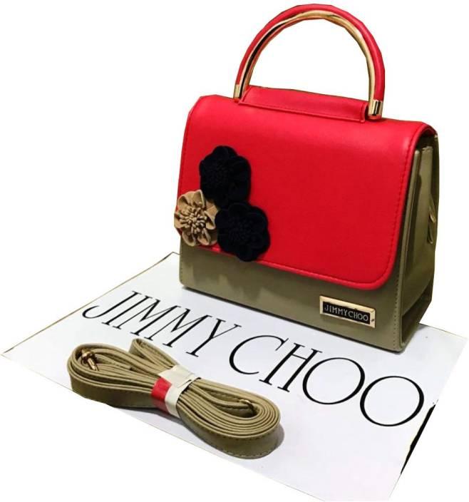 Jimmy Choo Women Multicolor Genuine Leather Hand Held Bag