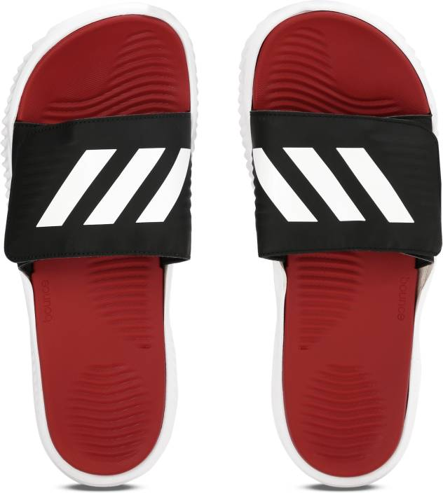 11a12c4e000a6 ADIDAS ALPHABOUNCE SLIDE Slippers - Buy SCARLE FTWWHT CBLACK Color ADIDAS  ALPHABOUNCE SLIDE Slippers Online at Best Price - Shop Online for Footwears  in ...