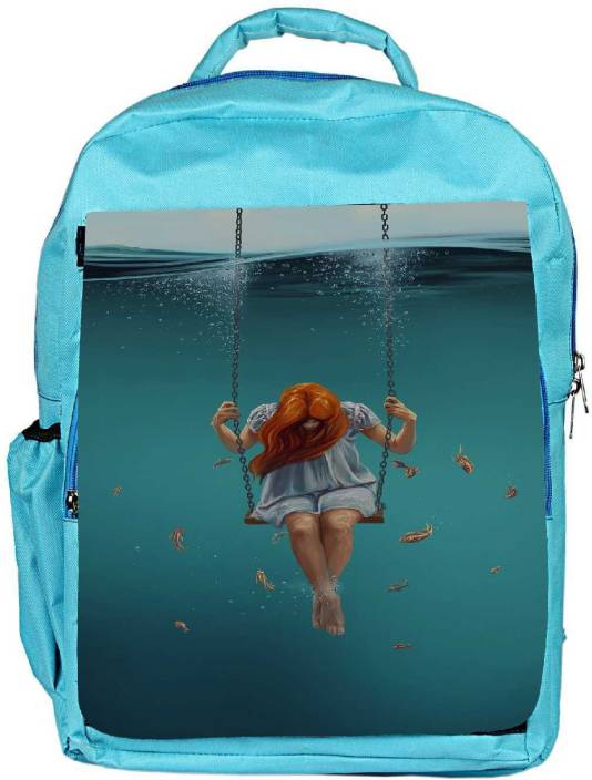 Snoogg Eco Friendly Canvas Swing Inside Water Designer