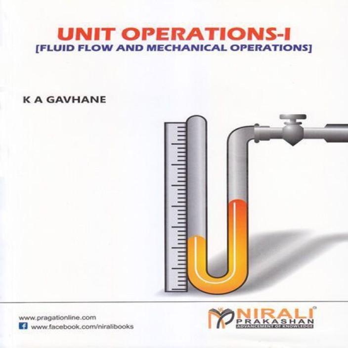Unit Operations Book