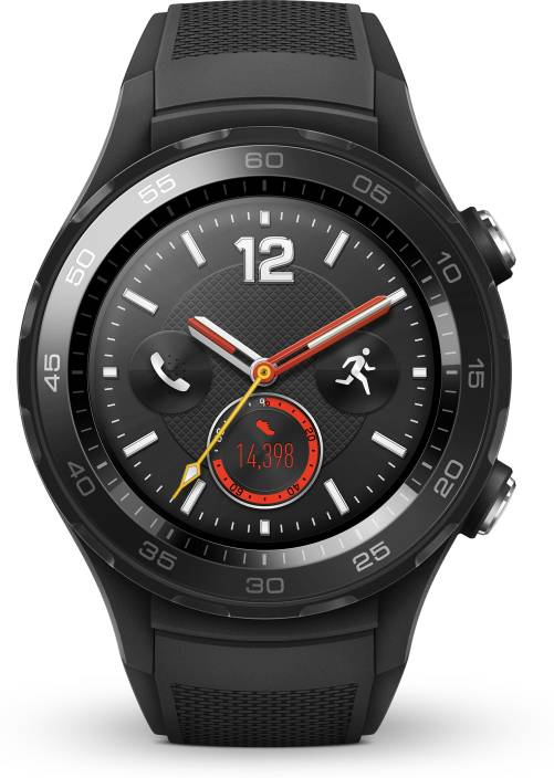 77a1f61ed Huawei Watch 2 Sport with 4G Carbon Black Smartwatch (Black Strap Regular)