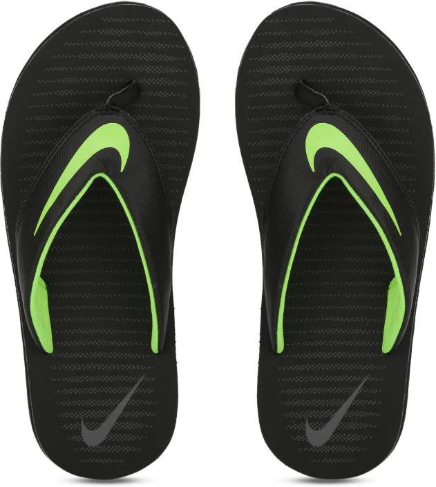 339a859dce79 Nike CHROMA THONG 5 Slippers - Buy BLACK VOLT-DARK GREY Color Nike CHROMA  THONG 5 Slippers Online at Best Price - Shop Online for Footwears in India  ...
