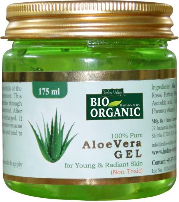 Indus Valley BIO Organic 100% Pure Aloe Vera Gel