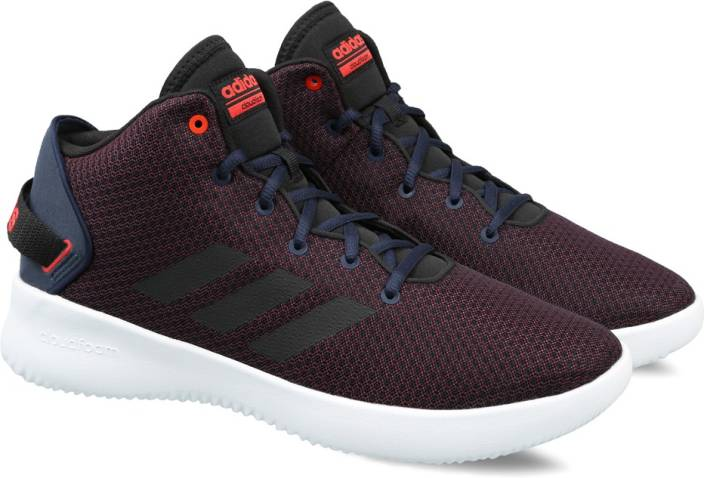 c75cec44b124 ADIDAS NEO CF REFRESH MID Basketball Shoes For Men - Buy SCARLE ...